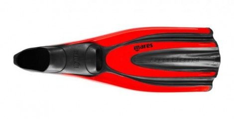 Mares Fins Avanti Superchannel FF red